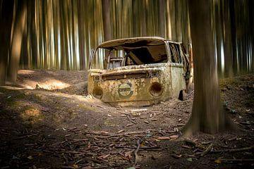 verlaten volkswagen van Kristof Ven