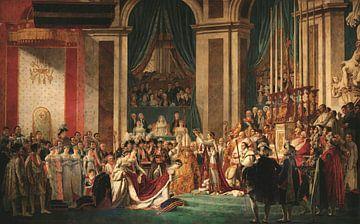 Die Krönung von Napoleon und die Krönung von Josephine, Jacques-Louis David