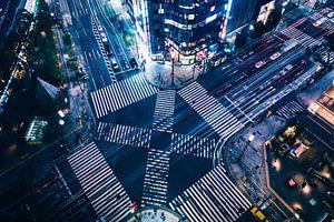 Ginza Crossing van Sander Peters Fotografie