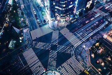 Ginza Crossing sur Sander Peters Fotografie