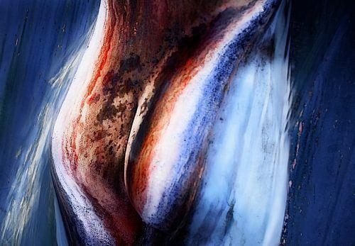 Vrouwelijk lichaam 2 van Marcel van Balken