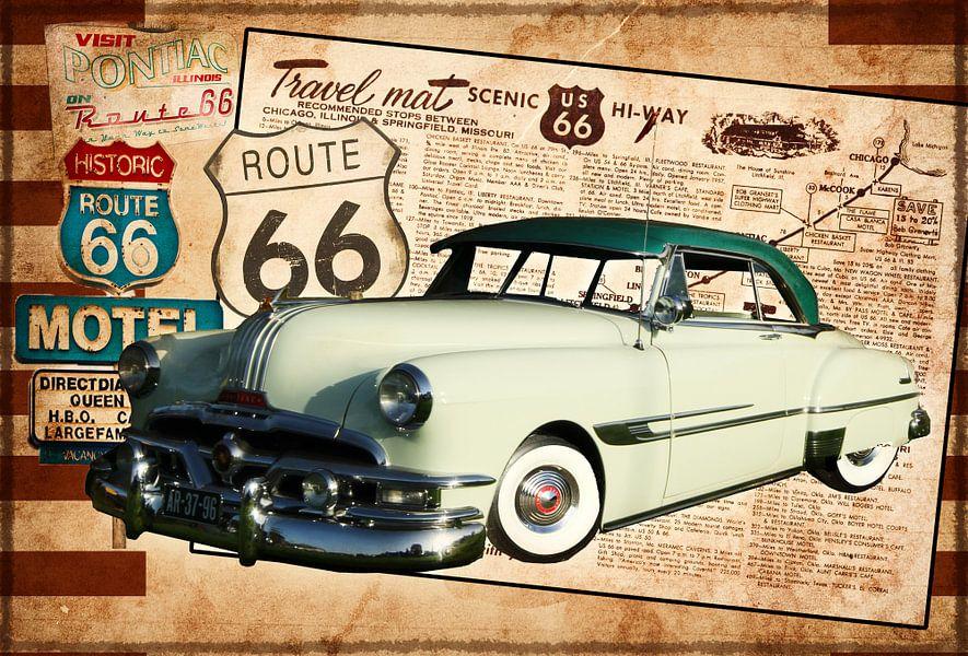 Collage Pontiac van Kvinne Fotografie