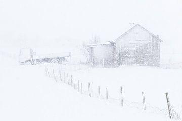 Sneeuwstorm van Antwan Janssen
