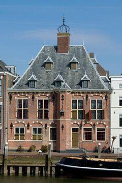 Maassluis-Achterzijde Provinciehuis van Hans Blommestijn