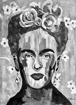 Frida Kahlo von Kathleen Artist Fine Art
