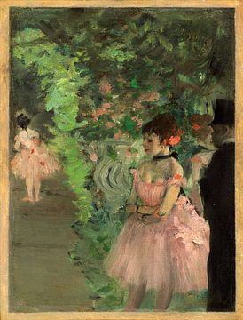 Tänzer hinter der Bühne, Edgar Degas