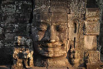 Boeddha King Jayavarman VII von Dirk Verwoerd