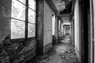 Chateau Secession gangpad (zwart-wit) von Rens Bok