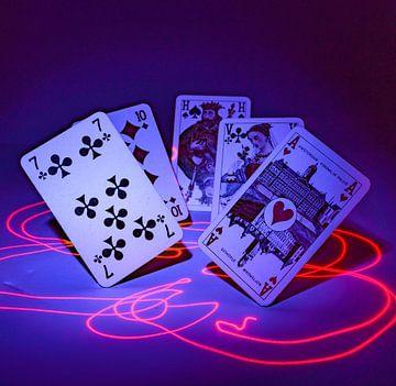 un jeu de cartes spécial
