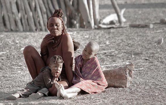 Himba Family van BL Photography