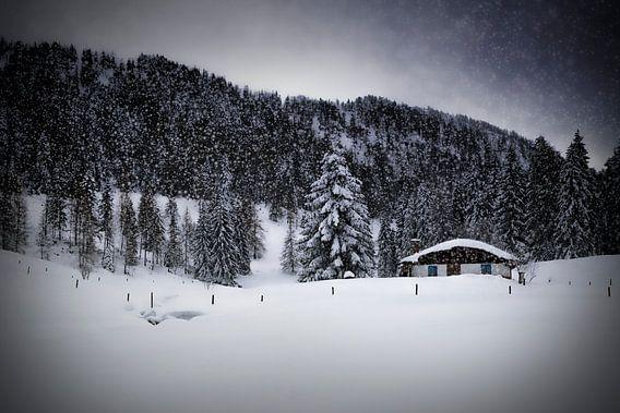 Bavarian Winter's Tale VIII van Melanie Viola
