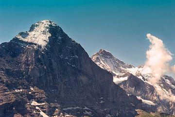Eiger & Jungfrau in de zwitserse Alpen van Steven Van Aerschot