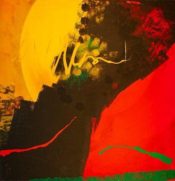 Aufgehender Mond von Klaus Heidecker