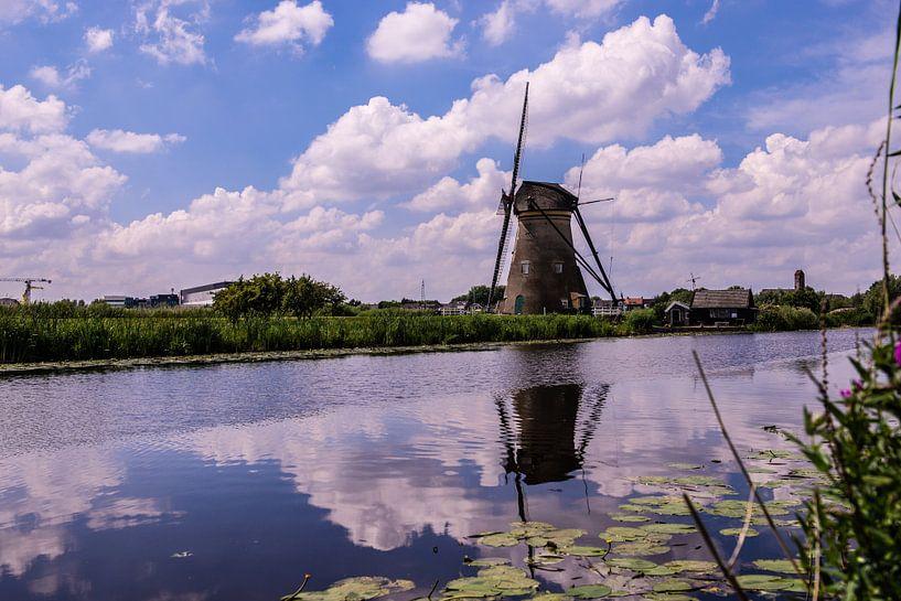 Moulins à vent sur le Kinderdijk sur Brian Morgan