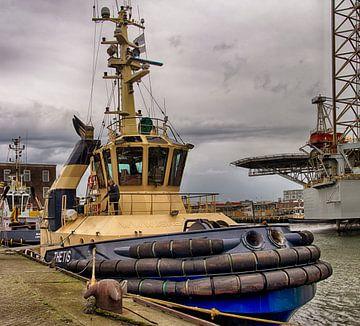Sleepboot IJmuiden van Gerard de Ridder