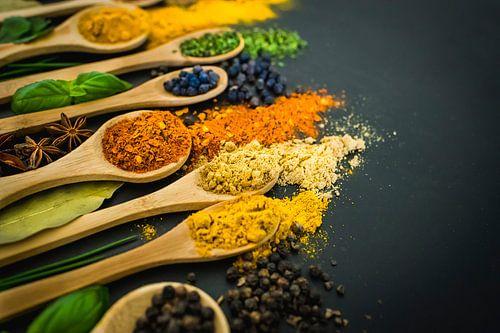 Kruiden & specerijen, herbs & spices