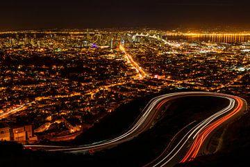 San Francisco bij nacht van Denis Feiner