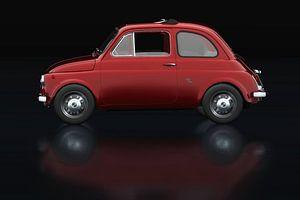 Fiat Abarth 595 1968 Zijaanzicht van Jan Keteleer