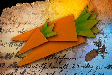 Origami trifft Küche - Möhren von Erich Krätschmer
