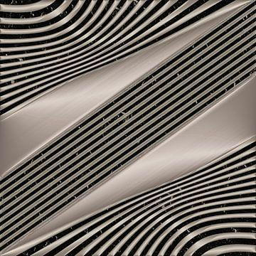 Geometrische Lijnen - Metaalkunst van Christine Nöhmeier