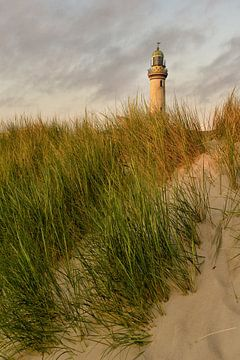 Leuchtturm in Warnemünde von David Mrosek