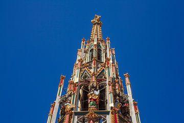 Belle fontaine, Marché principal, Nuremberg, Moyenne Franconie, Franconie, Bavière, Allemagne, Europ sur Torsten Krüger
