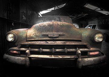 Chevrolet voiture de collection sur Olivier Van Cauwelaert