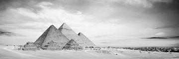 Die großen Pyramiden von Gizeh von Günter Albers