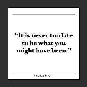 Inspiratie quote   George Eliot van Kirsten Langmuur
