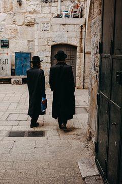 Orthodoxe Joden in Jeruzalem van Lauri Miriam van Bodegraven