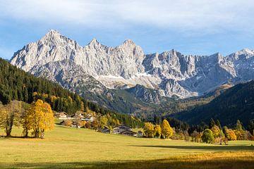 """Berglandschaft """"Berge im Herbst"""" von Coen Weesjes"""