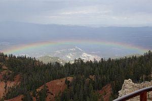 Bryce Canyon National Park regenboog