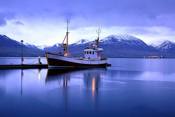 Fjord Eyjafjörður Akureyri von Patrick Lohmüller