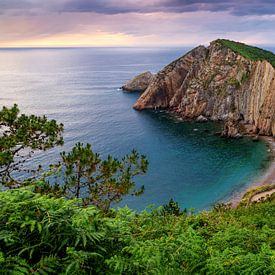 Playa del Silencio, Asturien, Spanien von Adelheid Smitt