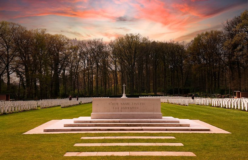 Militaire Erebegraafplaats Oosterbeek van Brian Morgan