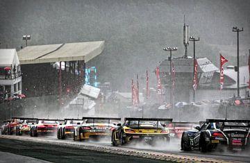 Start des 24-Stunden-Rennen von Spa-Francorchamps  von Bert Westendorp