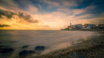 Sonnenuntergang Urk von Michel Jansen