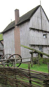 Het smidshuis uit de ijzertijd  van Wilbert Van Veldhuizen