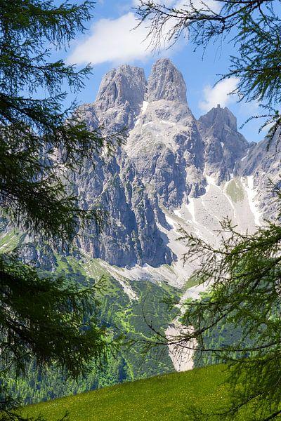 Een markante berg
