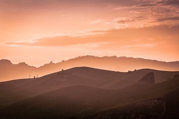 Sonnenaufgang in der Mongolei. von Andre Brasse Photography