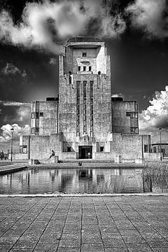 Radio Kootwijk; Frontansicht von Jelte Bosma