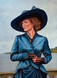 Michelle Pfeiffer Schilderij