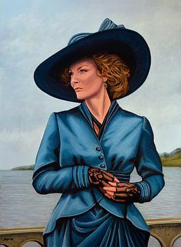 Michelle Pfeiffer Schilderij van