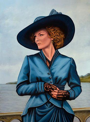 Michelle Pfeiffer Schilderij van Paul Meijering