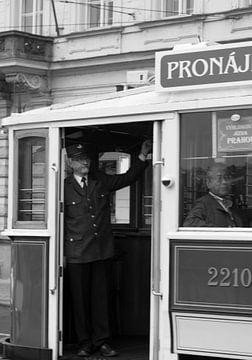 alte Straßenbahn von Nicolette Uchtmann