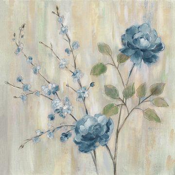 Hedendaagse Chinoiserie Blue, Silvia Vassileva van Wild Apple