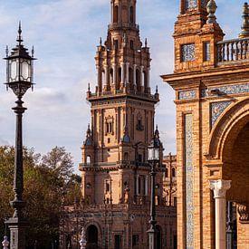 Plaza d'España, Sevilla van Jan de Vries