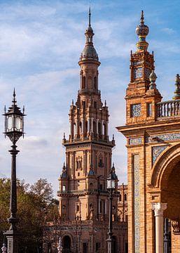 Plaza d'España, Sevilla von Jan de Vries
