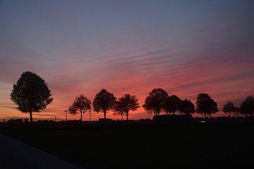 zonsondergang in Breyell