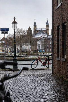Winterse kijk op Maastricht en de onze lieve vrouwe kerk van Kim Willems